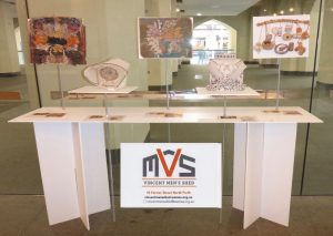 Photo of stand at the Altered States competition